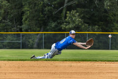 Teenage Baseball Player Royalty Free Stock Photography