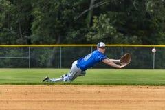 Teenage Baseball Player Royalty Free Stock Photography