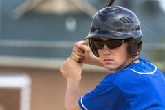 Teenage Baseball Player Royalty Free Stock Photos