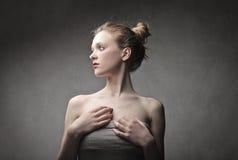 Teenage beauty Stock Photography