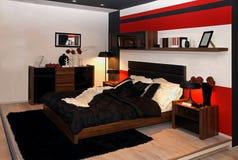 Teenage bedroom Stock Photography