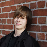 Teenage boy Royalty Free Stock Photos