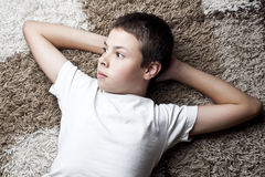 Teenage boy Royalty Free Stock Images