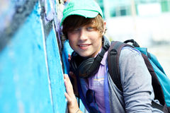 Teenage boy Stock Photography