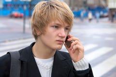 Teenage Boy Royalty Free Stock Photo