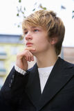 Teenage Boy Stock Photo