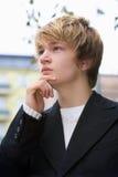 Teenage Boy Stock Photo