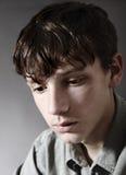 Teenage boy closeup Royalty Free Stock Image