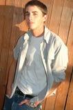 Teenage Boy Fashion stock photo