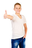 Teenage boy Royalty Free Stock Photos