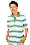 Teenage Boy With Hands In Pockets Royalty Free Stock Image