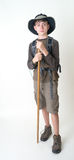 Teenage Boy Hiker royalty free stock photo