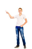 Teenage boy Royalty Free Stock Photography
