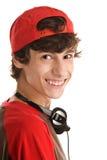 Teenage boy laughing Royalty Free Stock Photo