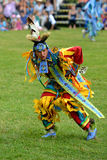 Teenage boy performs traditional native dance Royalty Free Stock Image