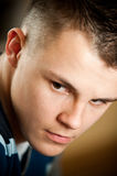 Teenage boy portrait Royalty Free Stock Photo