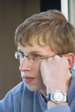 Teenage boy portrait Stock Photos