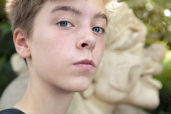Teenage boy. Portrait of a teenage boy Stock Images