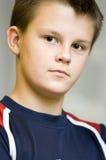 Teenage boy portrait royalty free stock image