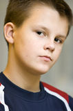 Teenage boy portrait Royalty Free Stock Photo
