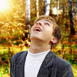 Teenage Boy Portrait Royalty Free Stock Photos