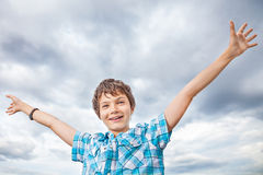 Teenage Boy Royalty Free Stock Photography