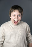Teenage boy portrait Royalty Free Stock Photography