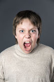 Teenage boy portrait Royalty Free Stock Images
