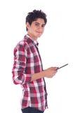 Teenage Boy Smiling Royalty Free Stock Image