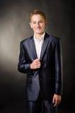 Teenage boy royalty free stock image