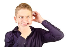 Teenage boy Stock Image