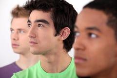 Teenage boys posing Stock Images