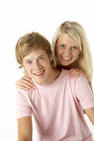 Teenage Brother And Sister Stock Photography