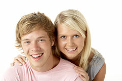 Teenage Brother And Sister Stock Photos