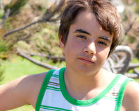Teenage Caucasian Boy Royalty Free Stock Photography