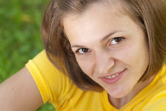 Teenage closeup Royalty Free Stock Image
