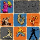 Teenage Collage Stock Photos