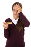 Teenage contraception Stock Images