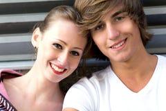 Teenage couple Royalty Free Stock Images