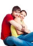Teenage Couple Royalty Free Stock Photography