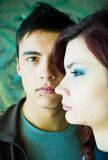 Teenage couple Royalty Free Stock Images