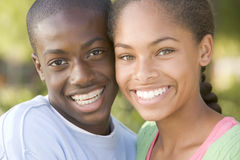 Teenage Couple Stock Images