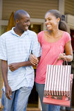 Teenage Couple. Smiling At Camera Stock Photography