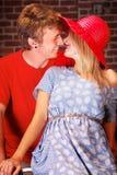 Teenage Couple Royalty Free Stock Photo