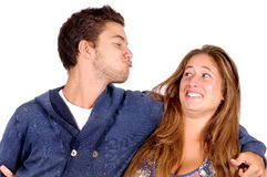 Teenage couple Royalty Free Stock Photography