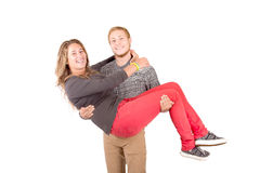 Teenage couple Royalty Free Stock Image