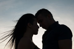 Free Teenage Couple On A Late Summer Afternoon In Park Royalty Free Stock Photos - 44910918