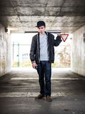 Teenage Crime. Is growing fast Royalty Free Stock Photos