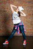 Teenage dancer Royalty Free Stock Photo