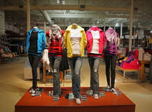 Teenage fashion store Royalty Free Stock Image